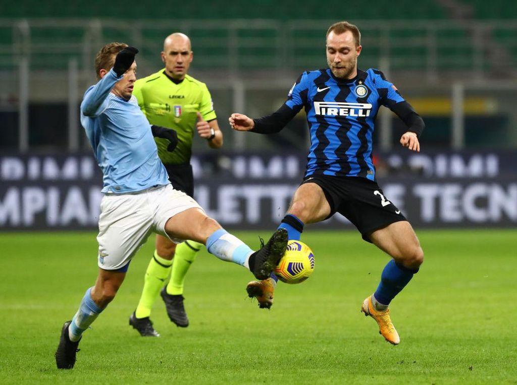 Mulai Nyetel, Eriksen Kikis Anggapan Tak Cocok untuk Inter