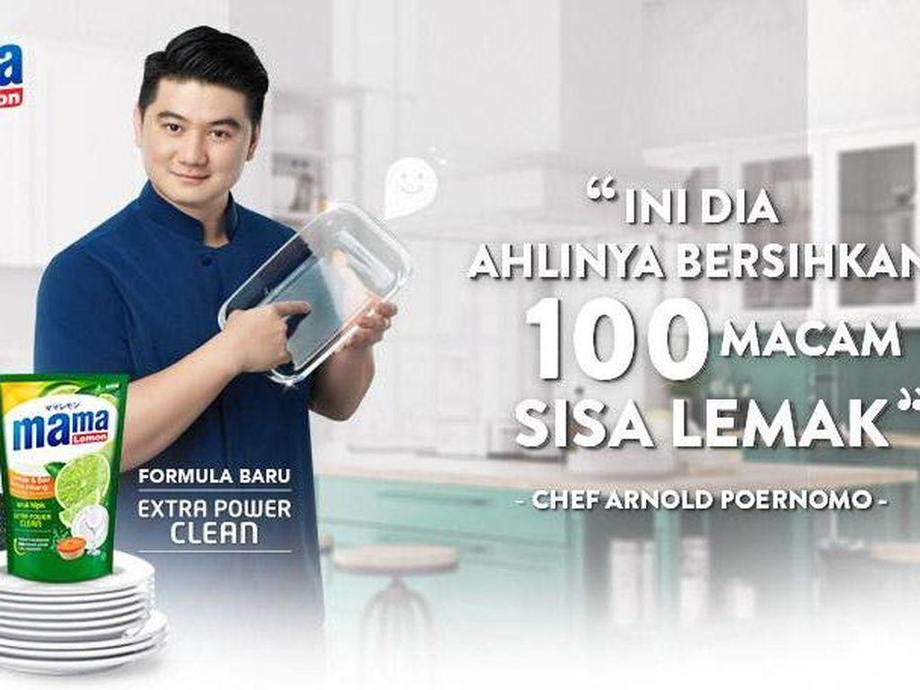 Suka Cuci Piring, Chef Arnold Beda Dibanding Chef yang Lain!
