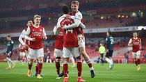Drama 6 Gol Arsenal Vs Leeds, Aubameyang Hat-Trick