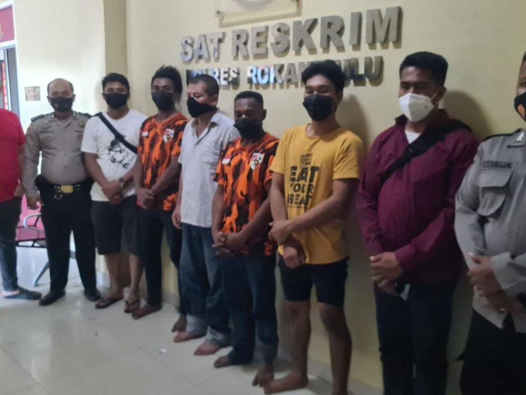 Motif Bentrok 2 Ormas di Rohul, Polisi: Sakit Hati Masalah Cat
