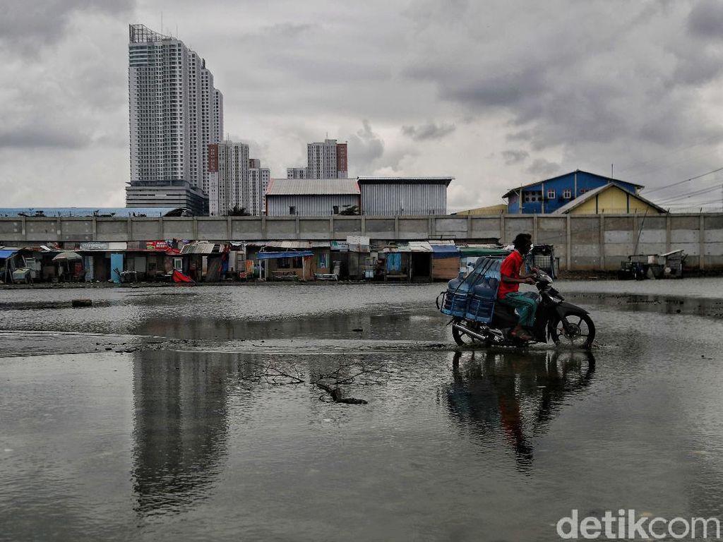 Ini Kampung di Jakut yang Selalu Diterjang Banjir Rob
