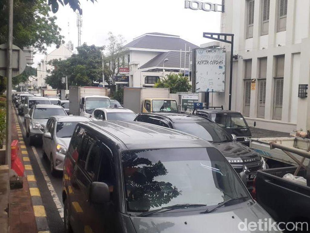 Kota Tua Ditutup, Macet Langsung Terjadi di Jl Kunir-Kemukus Jakbar