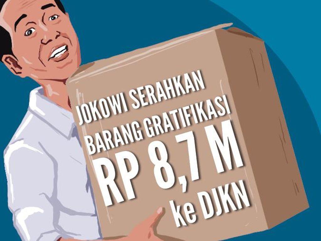 Sederet Barang Gratifikasi Jokowi Senilai Rp 8,788 Miliar