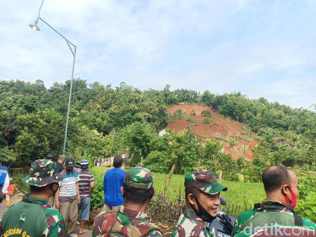 Hasil Survei BPBD Jatim, Longsor Susulan Rawan Terjadi di Nganjuk