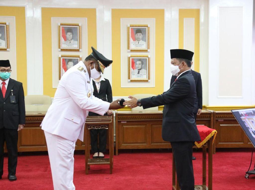 Tito Lantik Dirjen Bina Adwil Kemendagri Jadi Pj Gubernur Kalsel