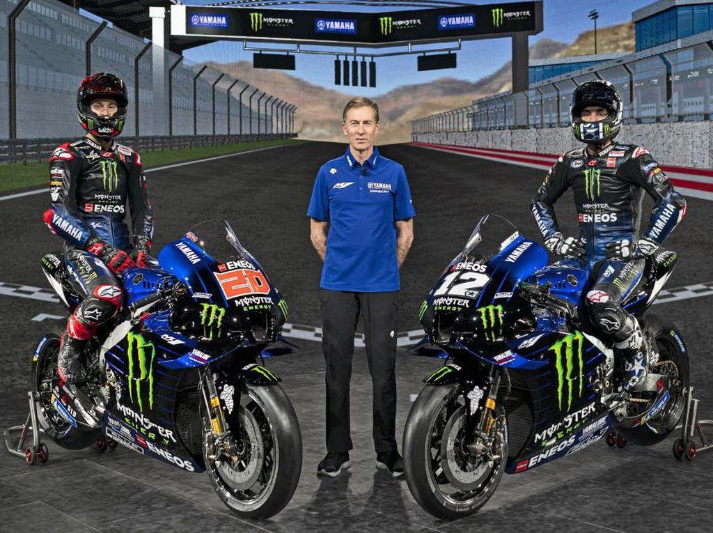 Yang Janggal dari Launching Motor MotoGP Yamaha: Green Screen dan Ketiadaan Rossi