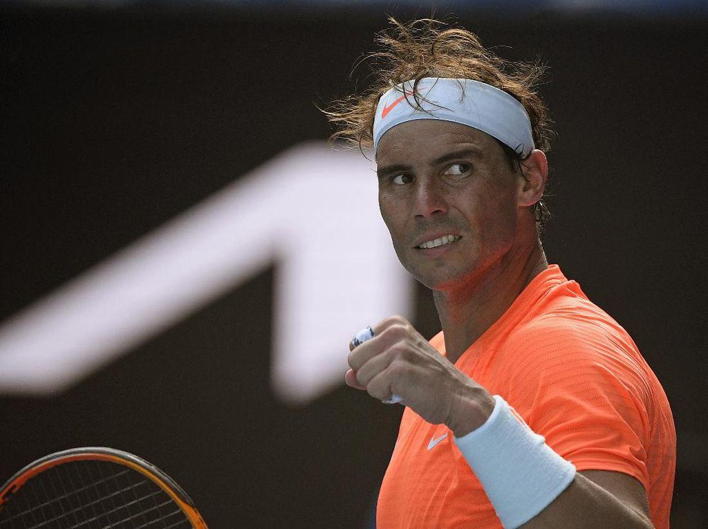 Hasil Australia Terbuka 2021: Nadal, Medvedev ke 8 Besar