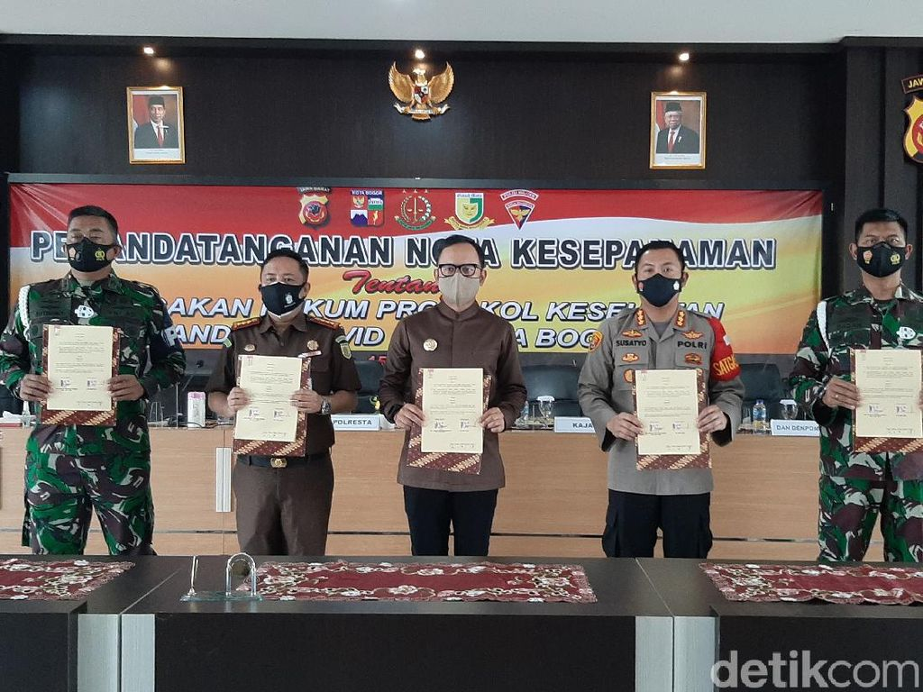 Siap-siap! Pelanggar Prokes di Kota Bogor Bisa Dipidana
