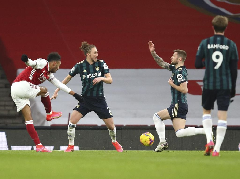 Arsenal Vs Leeds United: The Gunners Unggul 3-0 di Babak Pertama