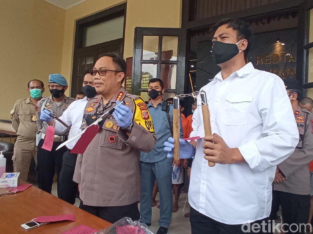 Selama 2 Pekan, Polisi Tangkap 16 Pelaku Kejahatan di Bandung