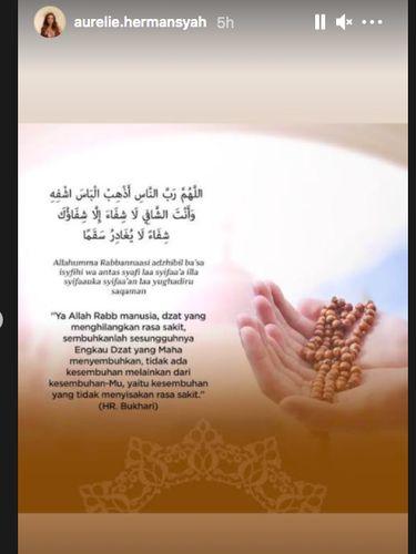Postingan Aurel Hermansyah