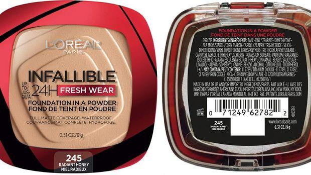 Primadona Baru Tiktok, Loreal Paris Infallible Fresh Wear 24H Powder Foundation Viral Hasilkan Matte Finish/makeupmuddle.com