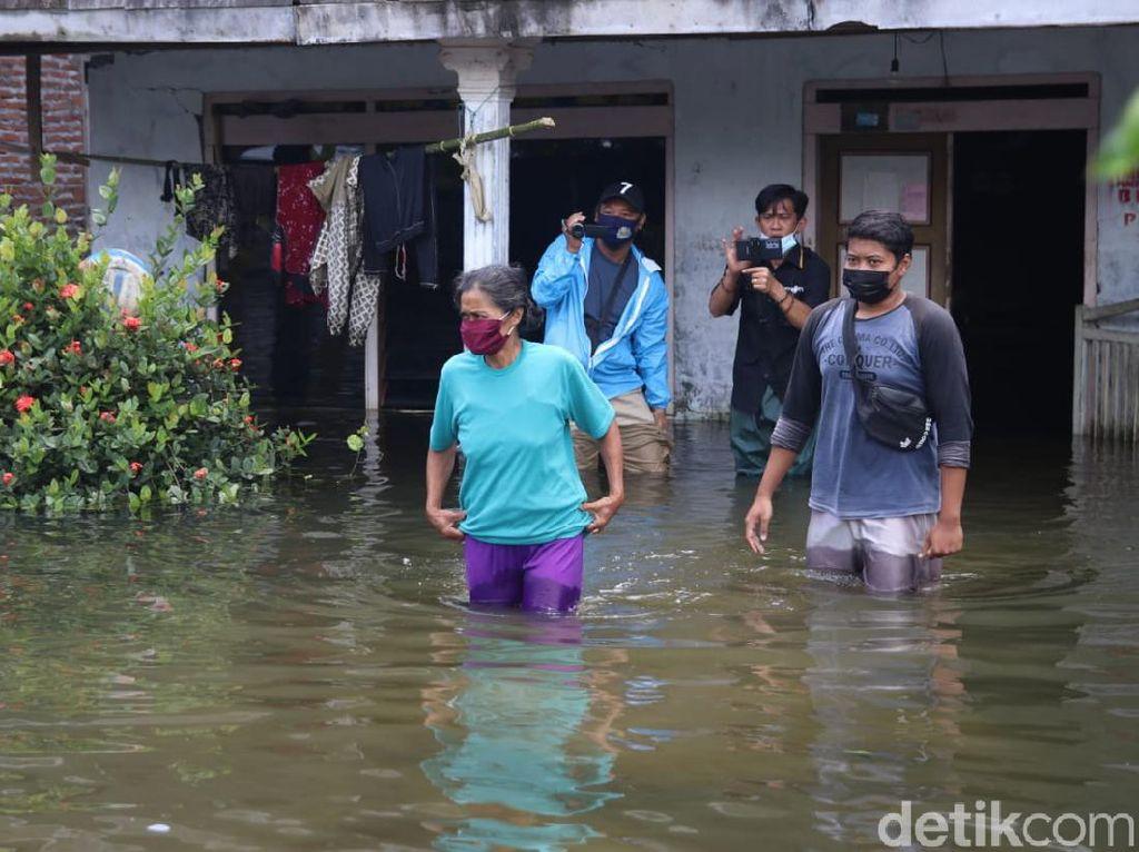Kondisi Terkini Banjir Pati: Air Mulai Surut, 140 Warga Masih Mengungsi