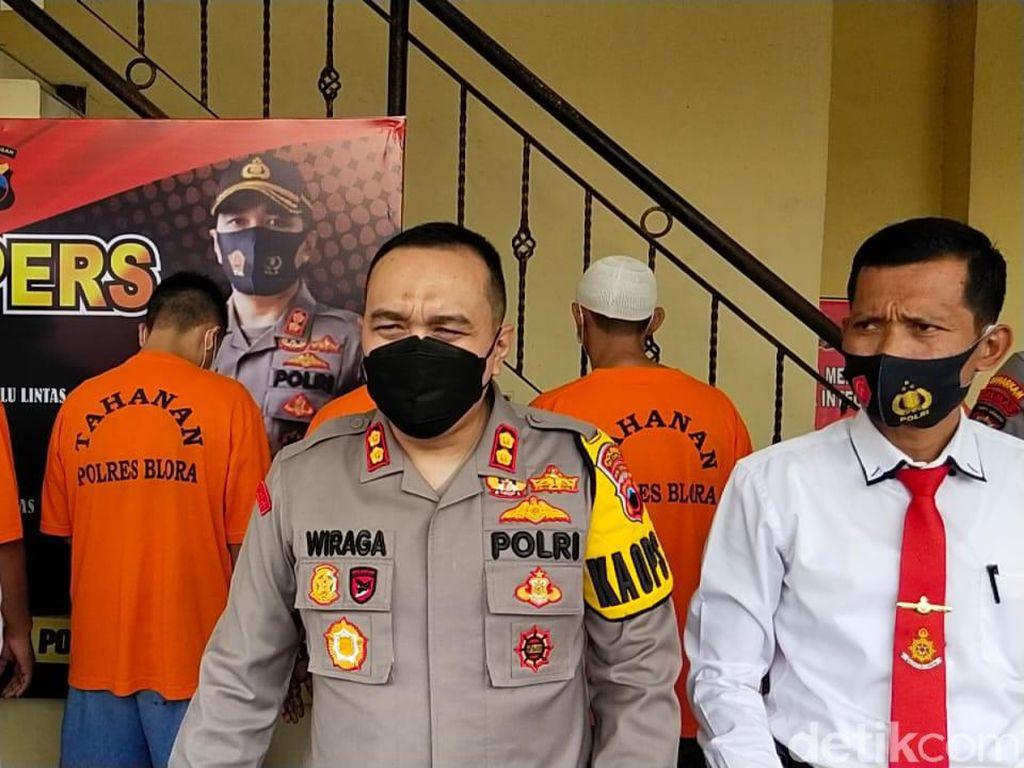 Polisi Tangkap 3 Penganiaya Karyawan-Pencurian Kayu Perhutani Cepu