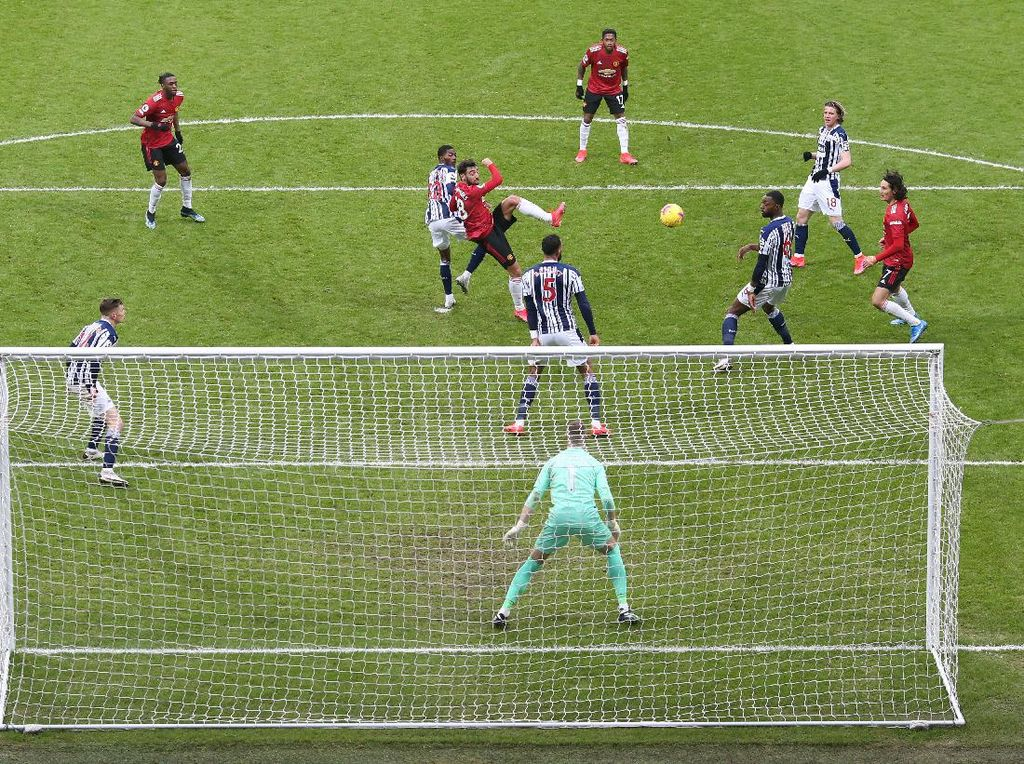 Gol Kejutan West Brom yang Tahan Manchester United