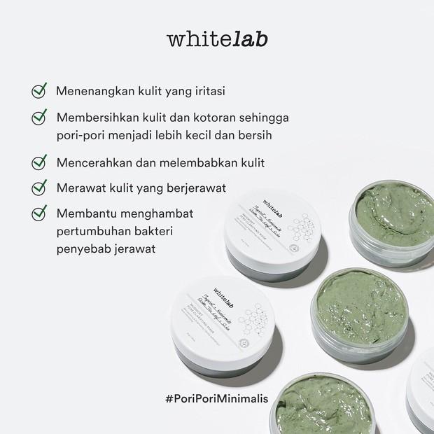 Whitelab Mugwort Pore Clarifying memiliki banyak klaim manfaat yang bagus/instagram.com/whitelab_id