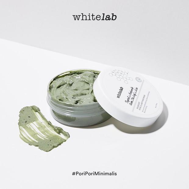 Whitelab Mugwort Pore Clarifying hadir dengan packaging yang simpel/instagram.com/whitelab_id