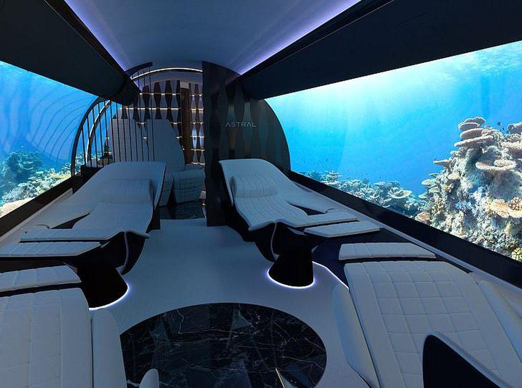 Kabin dan Jendela Pesawat Masa Depan: Bak Bioskop