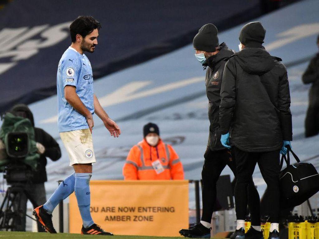 Everton Vs Man City: The Citizens Tanpa Guendogan