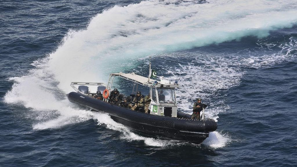 45 Negara Ikut Latihan Angkatan Laut Multinasional di Pakistan
