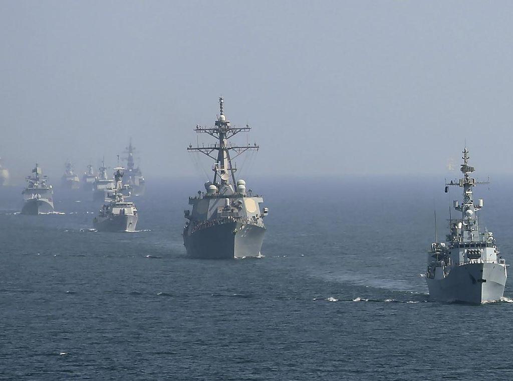 AS dan Bahrain Gelar Latihan Drone Pertama di Perairan Teluk