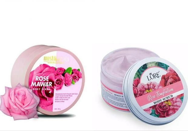 body care aroma mawar