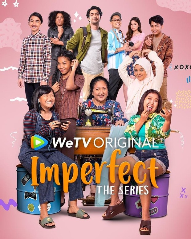 Poster Imperfect the Series.