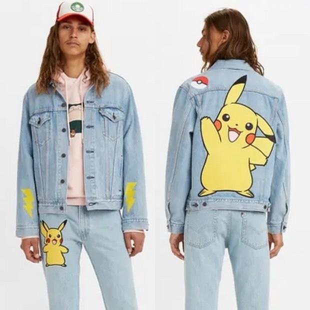 levi's x pokemon apparel