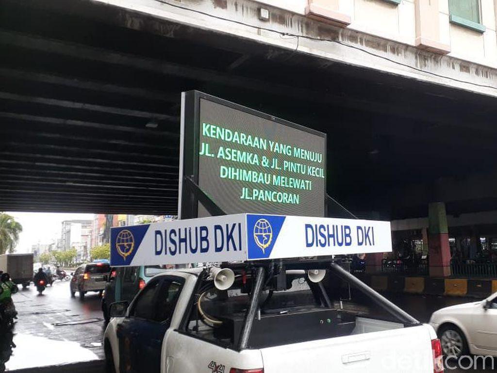 Penutupan Jalan LEZ Kota Tua, Pengendara dari Glodok Diimbau Belok Kiri