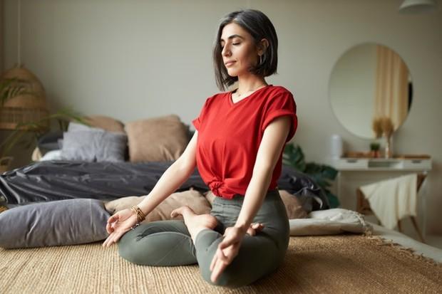 Meditasi di Tempat yang Nyaman