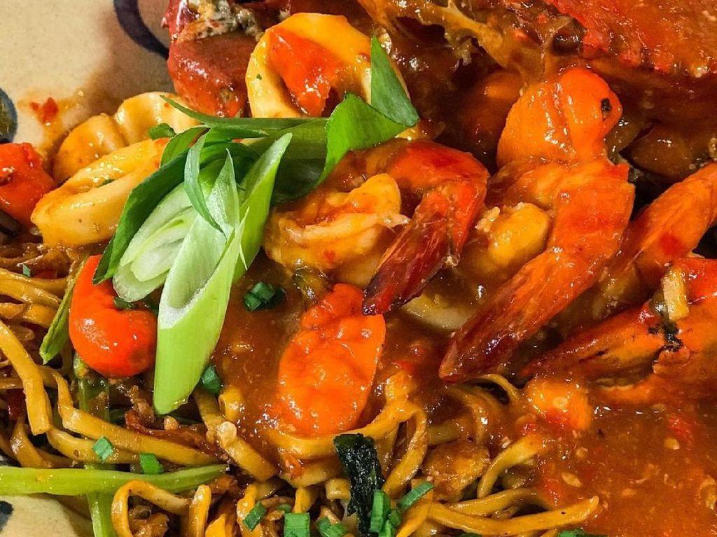 Masak Masak : Mie Goreng Topping Seafood Spesial yang Lezat