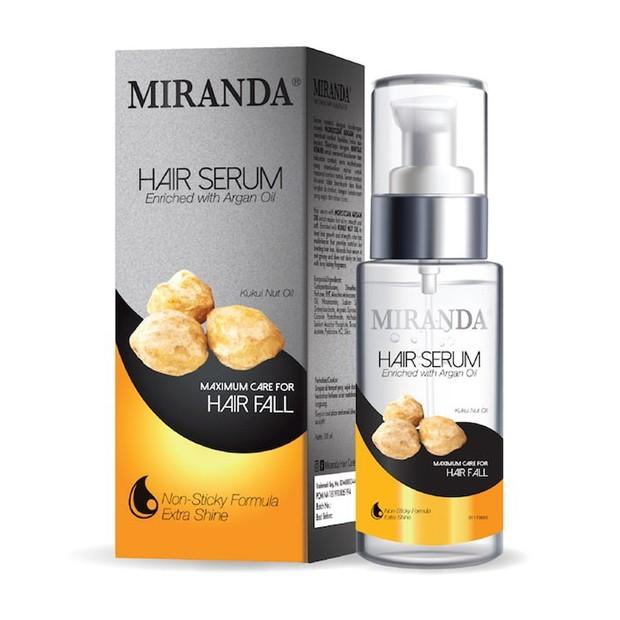 Miranda Hair Serum Kukui Nut Oil