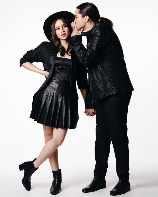Pasangan muda Tissa Biani dan Dul Jaelani.