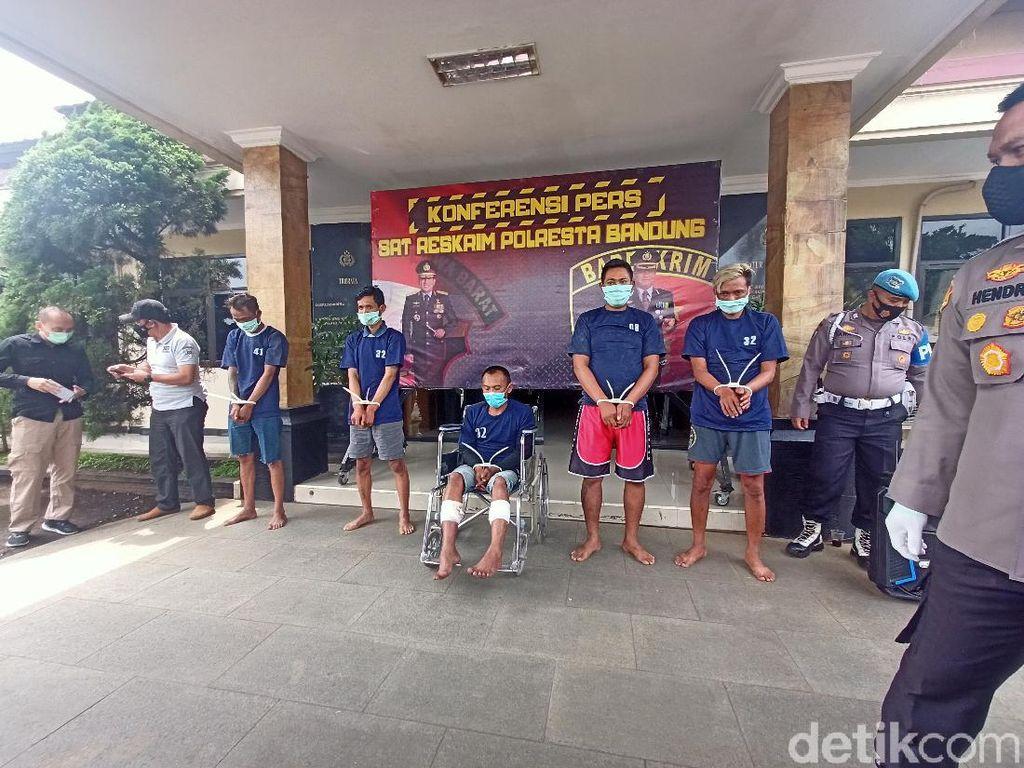 Ini Pemicu Pelaku Bacok Mati Pria di Cileunyi Bandung