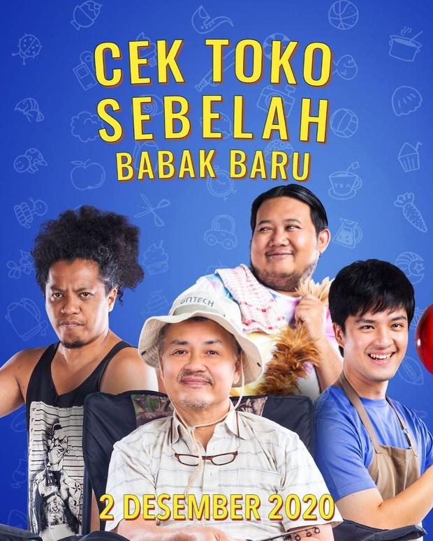 Poster Cek Toko Sebelah the Series.