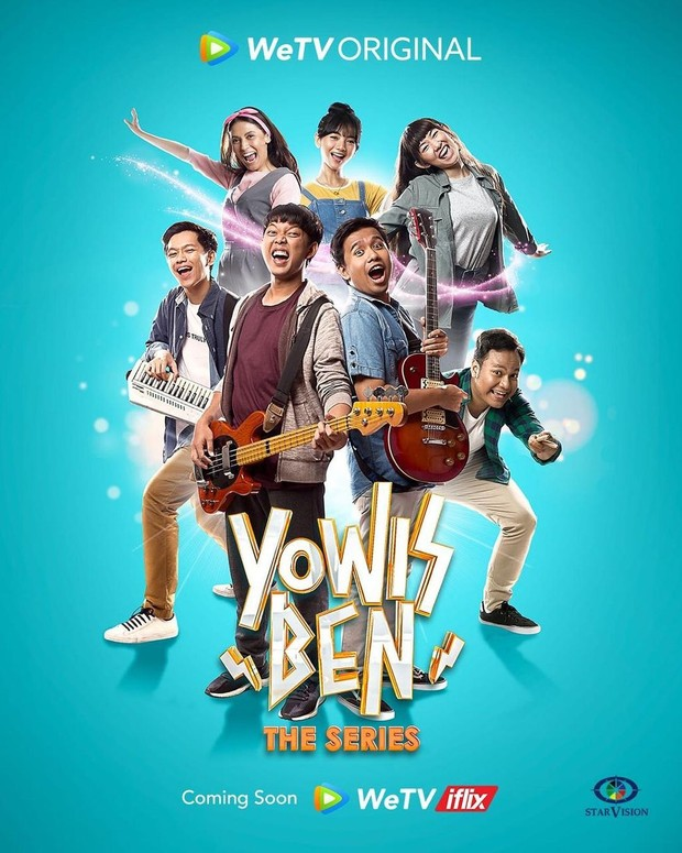 Poster Yowis Ben the Series.