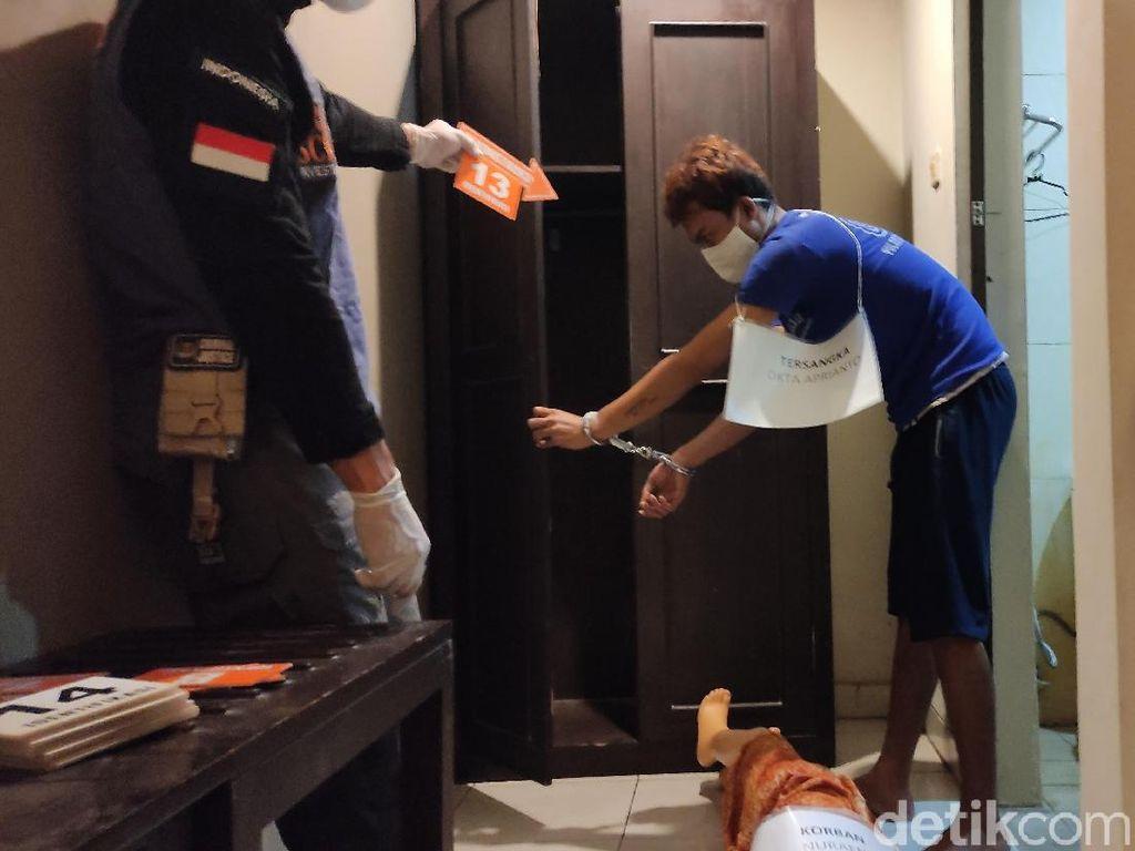 Pelaku Peragakan 14 Adegan Pembunuhan Sadis Perempuan di Hotel Semarang