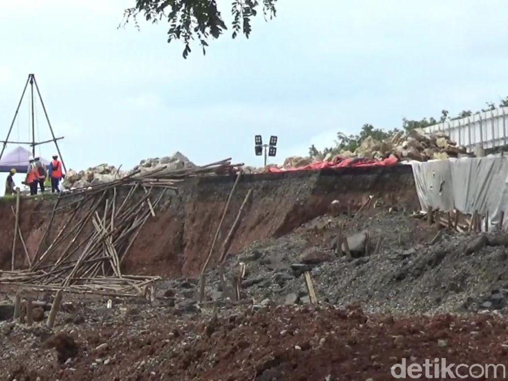 Melihat Progres Perbaikan Jalan Ambles Km 122 Tol Cipali