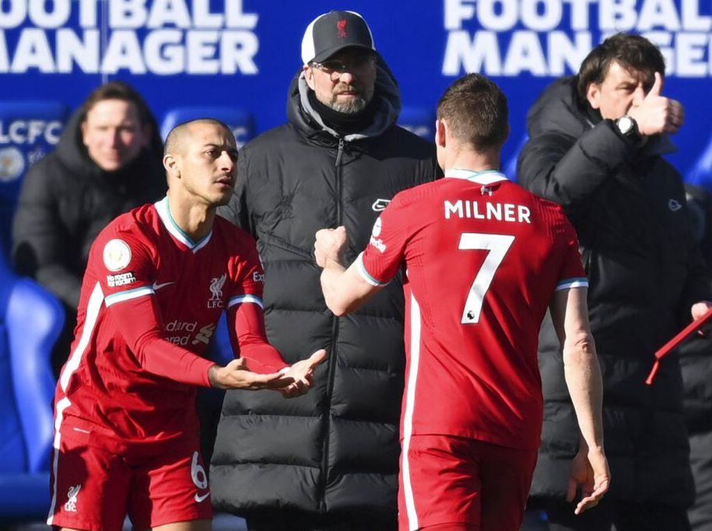 Liverpool Dengan atau Tanpa Thiago, Lebih Jelek Mana?