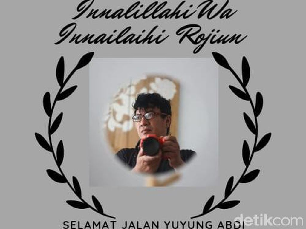 Yuyung Abdi Fotografer Senior Surabaya Tutup Usia