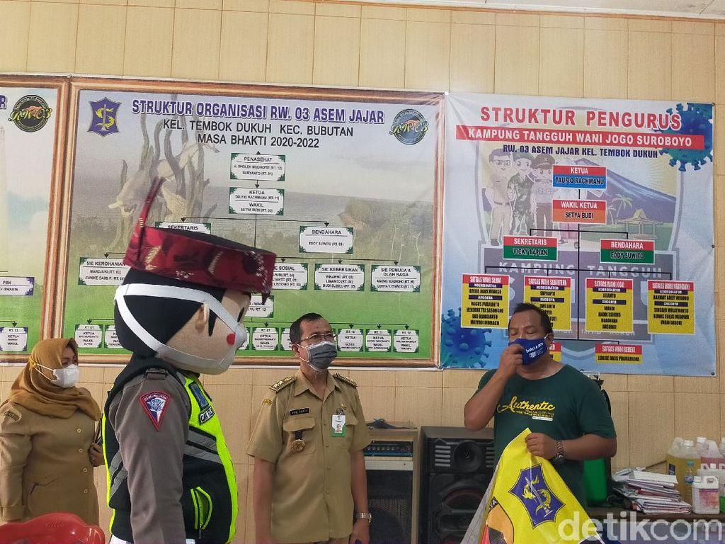 Perjuangan RW di Surabaya Pertahankan Zona Hijau COVID-19