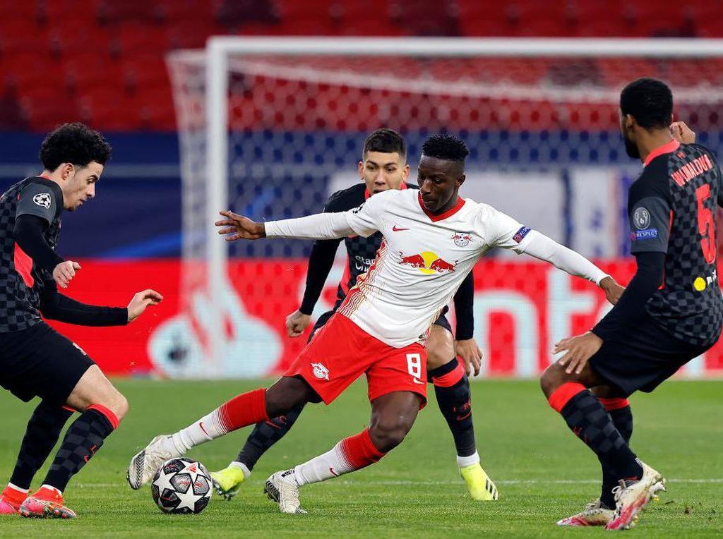 Leipzig Vs Liverpool Masih Tanpa Gol di Babak I