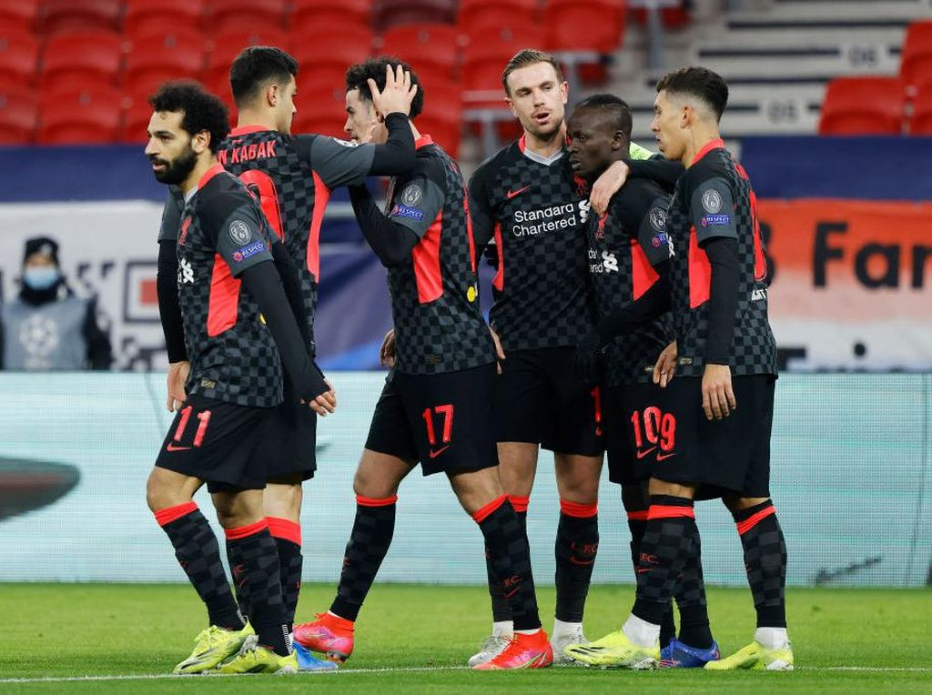 Mane-Salah Bikin Liverpool Perkasa Atas RB Leipzig