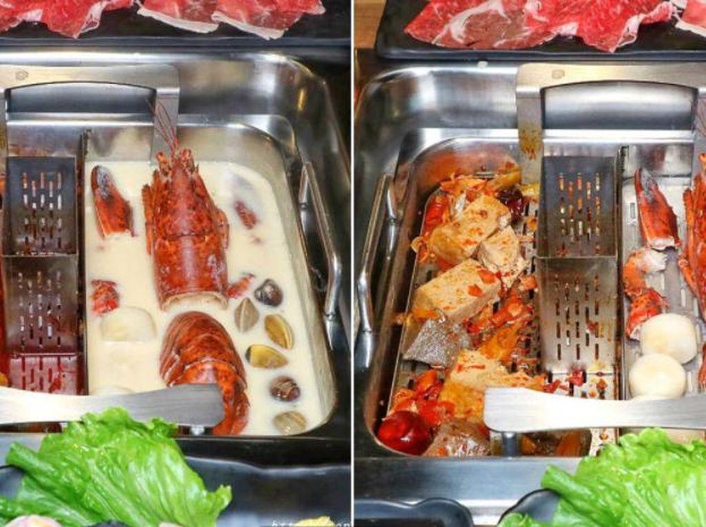 Praktis! Resto Hot Pot Ini Hadirkan Alat Penyaring Otomatis