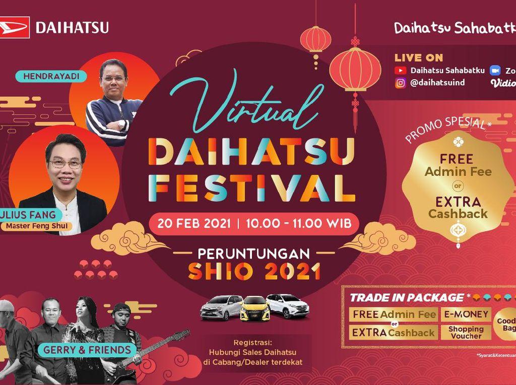 Daihatsu Festival Hadir Lagi Akhir Pekan Ini, Ada Banyak Promo!