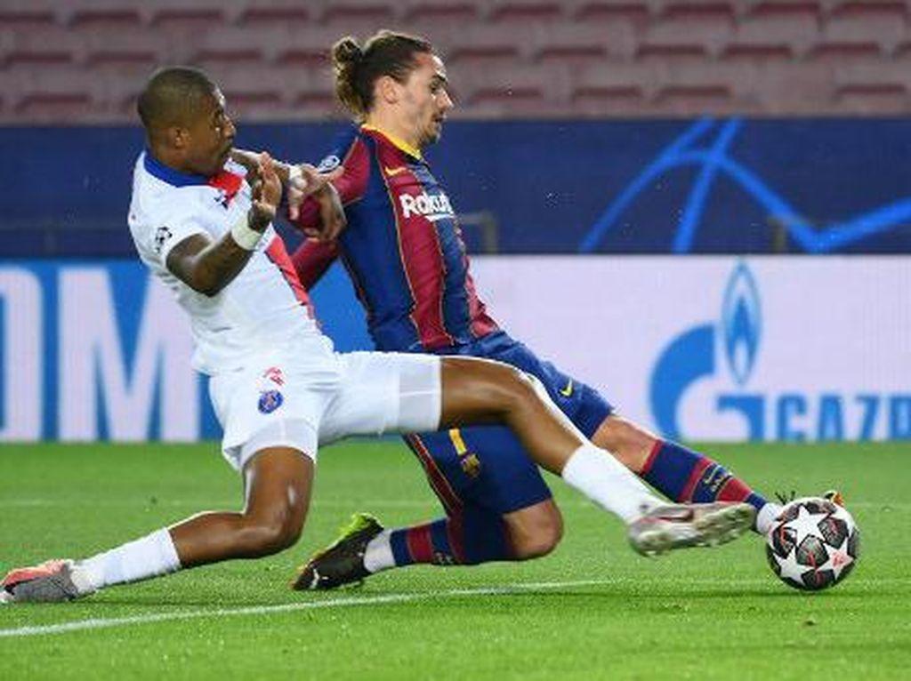 Seru! Barcelona Vs PSG Imbang 1-1 di Babak Pertama