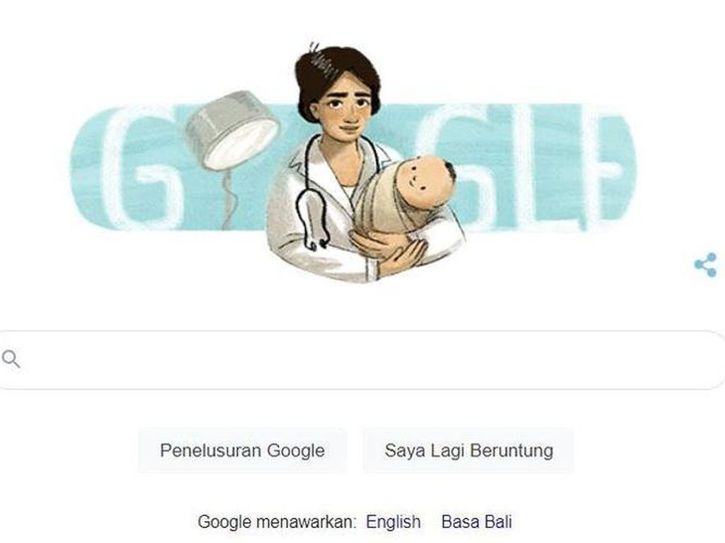 Google Doodle Rayakan Hari Lahir Marie Thomas, Dokter Wanita Pertama di Indonesia