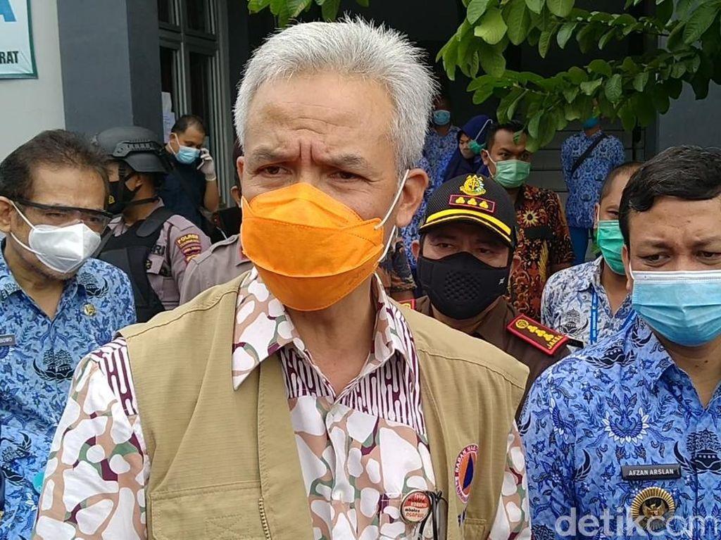Antisipasi Corona B117, Ganjar Minta Perketat Pintu Masuk Indonesia