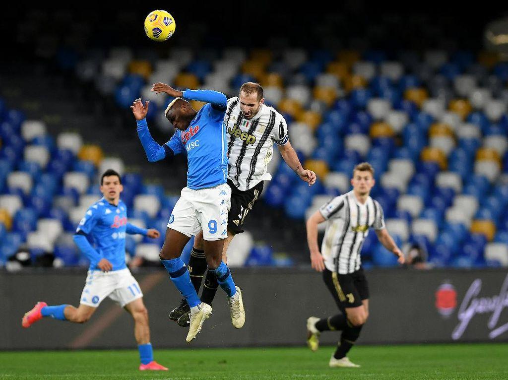 Chiellini: Kekalahan dari Napoli Enggak Berefek Buat Juventus