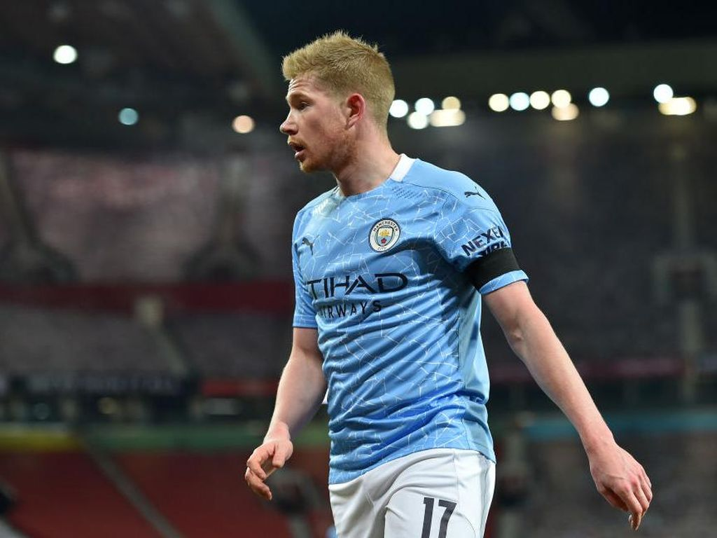 Everton Vs Man City: Guendogan Absen, De Bruyne Main